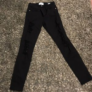 Frame ripped jeans